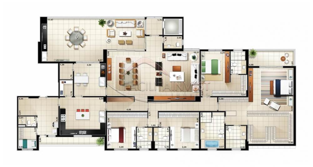 Comprar Apartamentos / Apart. Padrão em Ribeirão Preto apenas R$ 2.481.222,24 - Foto 2