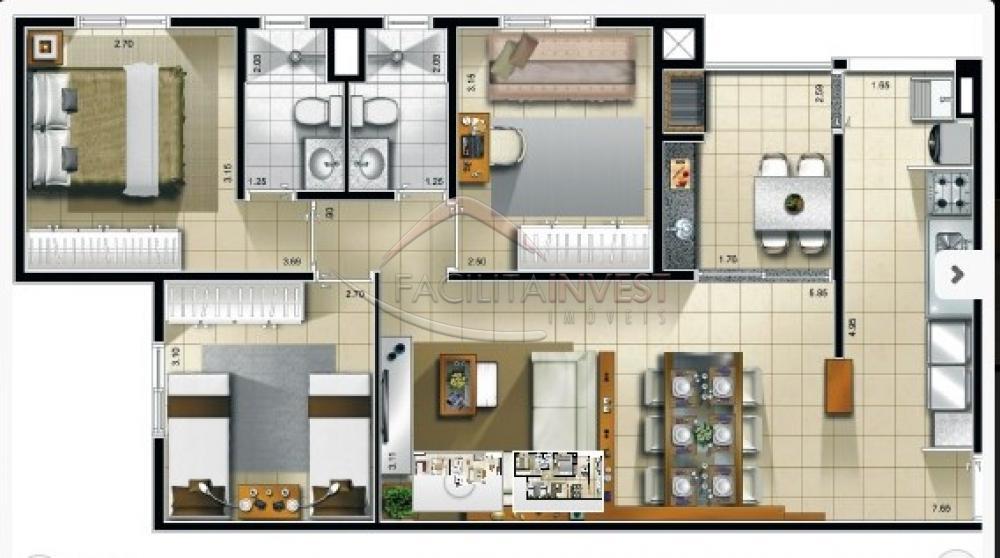 Comprar Apartamentos / Apart. Padrão em Ribeirão Preto apenas R$ 357.600,00 - Foto 1