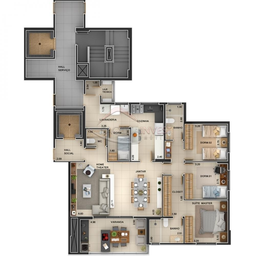 Comprar Apartamentos / Apart. Padrão em Ribeirão Preto apenas R$ 684.588,27 - Foto 1