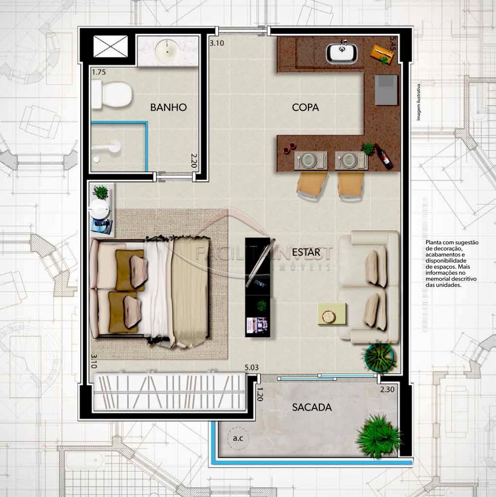 Comprar Apartamentos / Apart. Padrão em Ribeirão Preto apenas R$ 182.817,22 - Foto 1