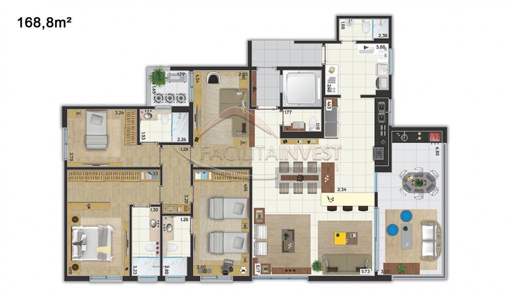 Comprar Lançamentos/ Empreendimentos em Construç / Apartamento padrão - Lançamento em Ribeirão Preto apenas R$ 958.391,00 - Foto 11