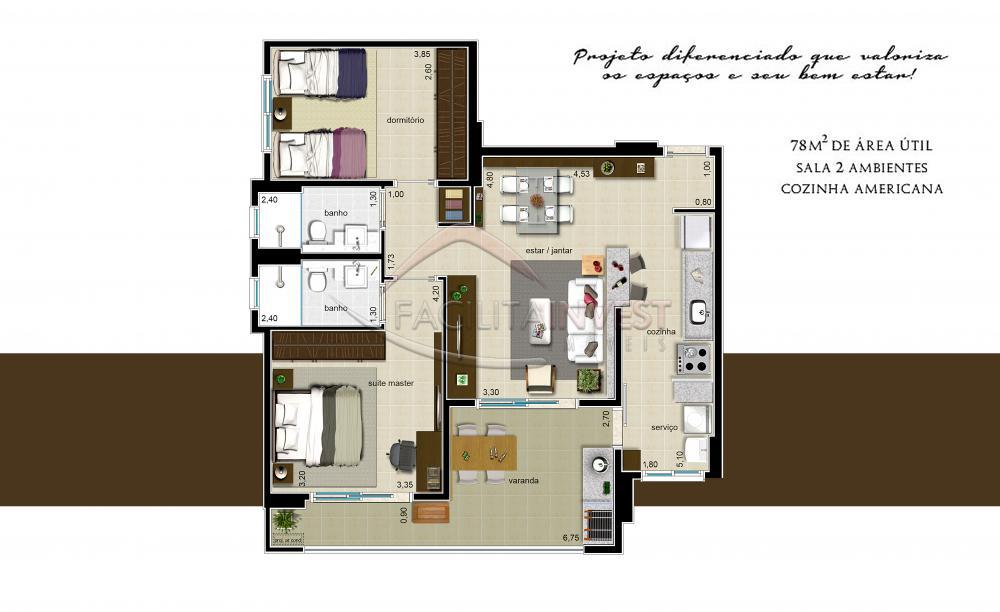 Comprar Apartamentos / Apart. Padrão em Ribeirão Preto apenas R$ 407.023,24 - Foto 3