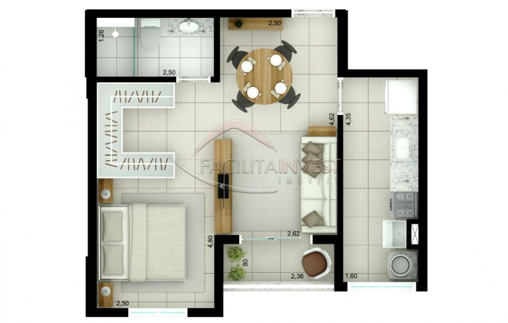 Comprar Lançamentos/ Empreendimentos em Construç / Apartamento padrão - Lançamento em Ribeirão Preto apenas R$ 230.000,00 - Foto 3