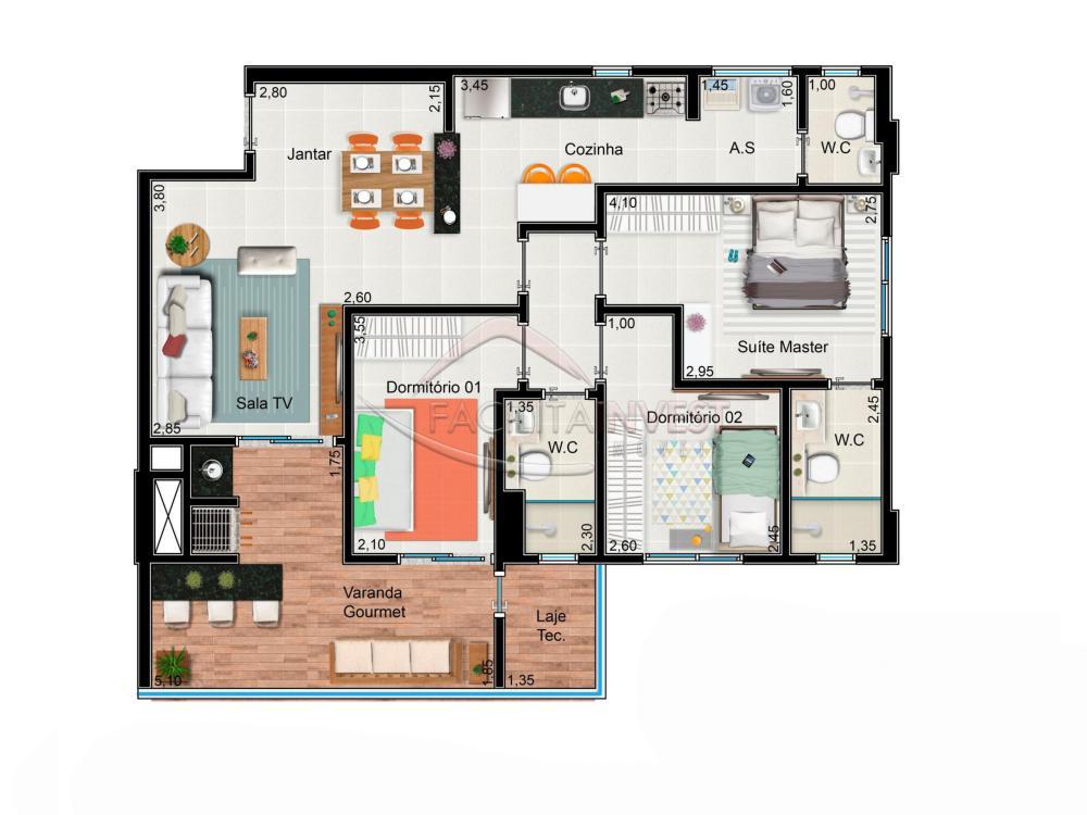Comprar Lançamentos/ Empreendimentos em Construç / Apartamento padrão - Lançamento em Ribeirão Preto apenas R$ 465.000,00 - Foto 3