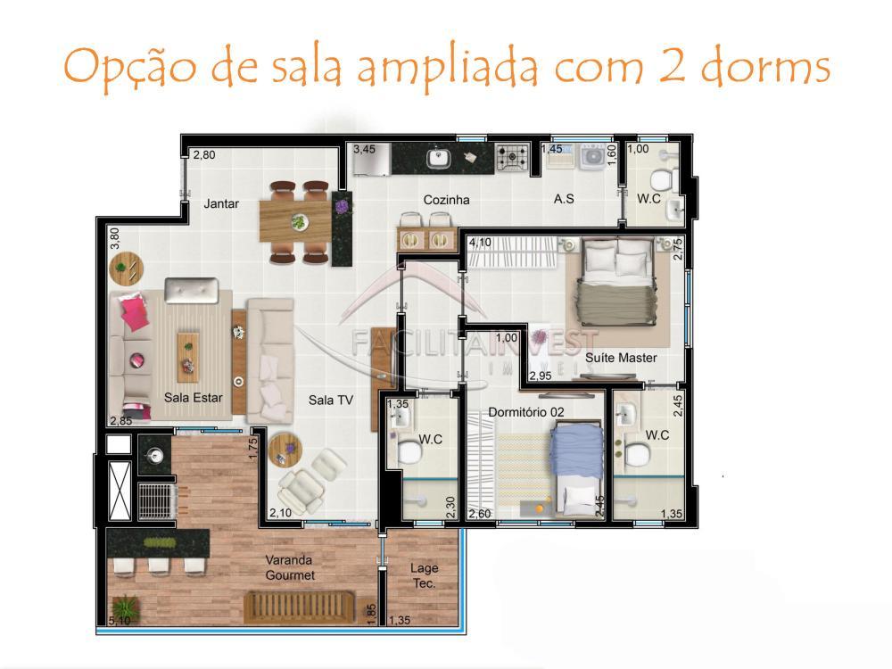 Comprar Lançamentos/ Empreendimentos em Construç / Apartamento padrão - Lançamento em Ribeirão Preto apenas R$ 465.000,00 - Foto 4