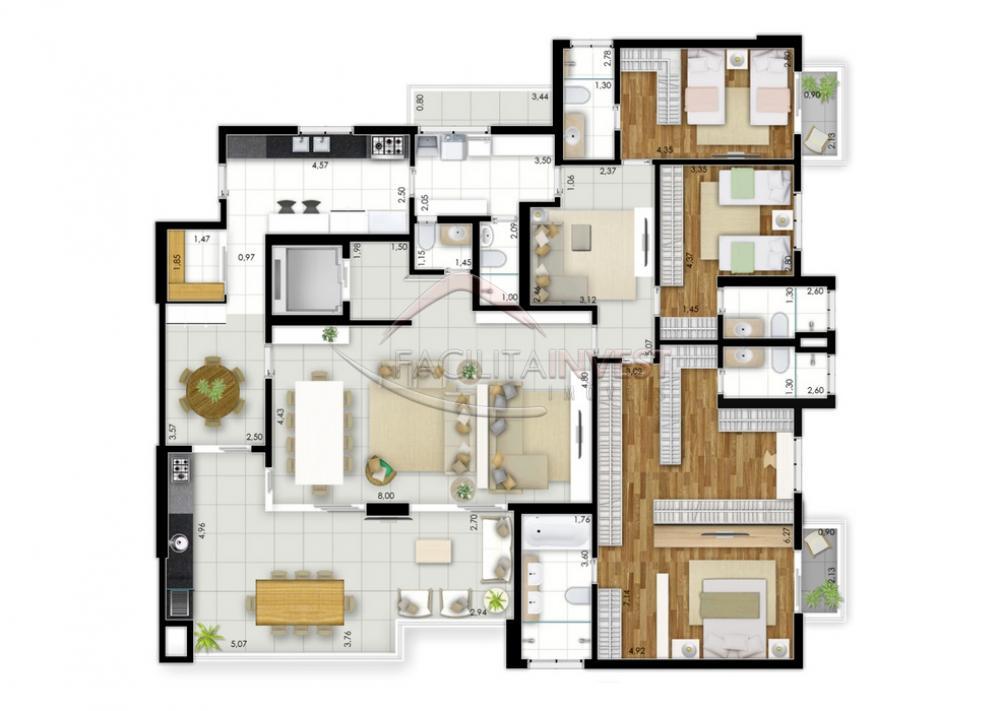 Comprar Apartamentos / Apart. Padrão em Ribeirão Preto apenas R$ 1.407.612,67 - Foto 9