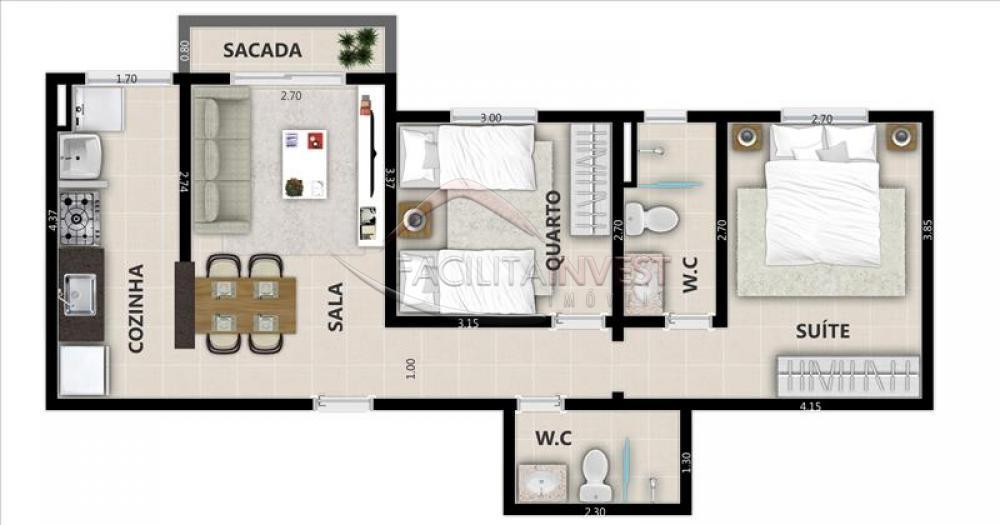 Comprar Lançamentos/ Empreendimentos em Construç / Apartamento padrão - Lançamento em Ribeirão Preto apenas R$ 195.360,00 - Foto 3