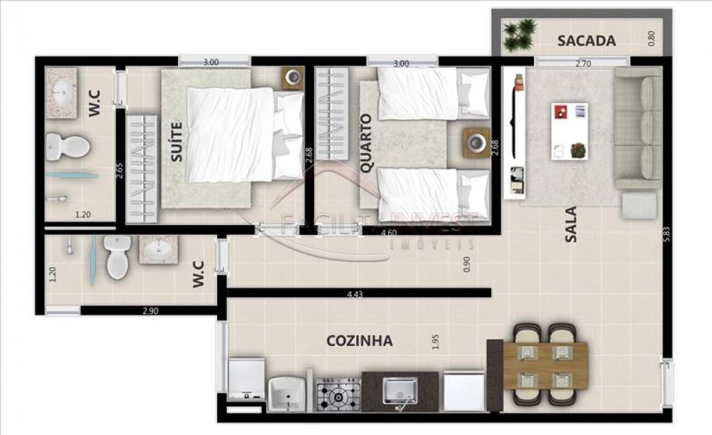 Comprar Lançamentos/ Empreendimentos em Construç / Apartamento padrão - Lançamento em Ribeirão Preto apenas R$ 195.360,00 - Foto 4