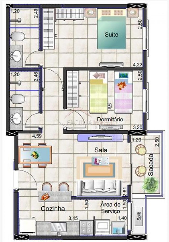 Comprar Apartamentos / Apart. Padrão em Ribeirão Preto apenas R$ 214.900,00 - Foto 2