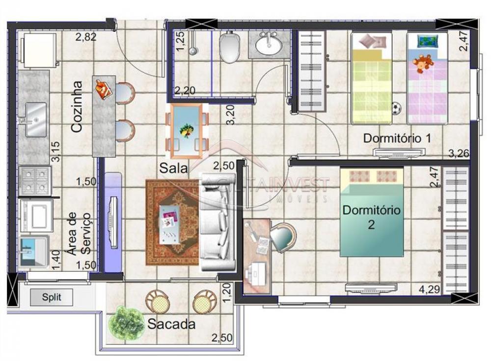 Comprar Apartamentos / Apart. Padrão em Ribeirão Preto apenas R$ 189.900,00 - Foto 3