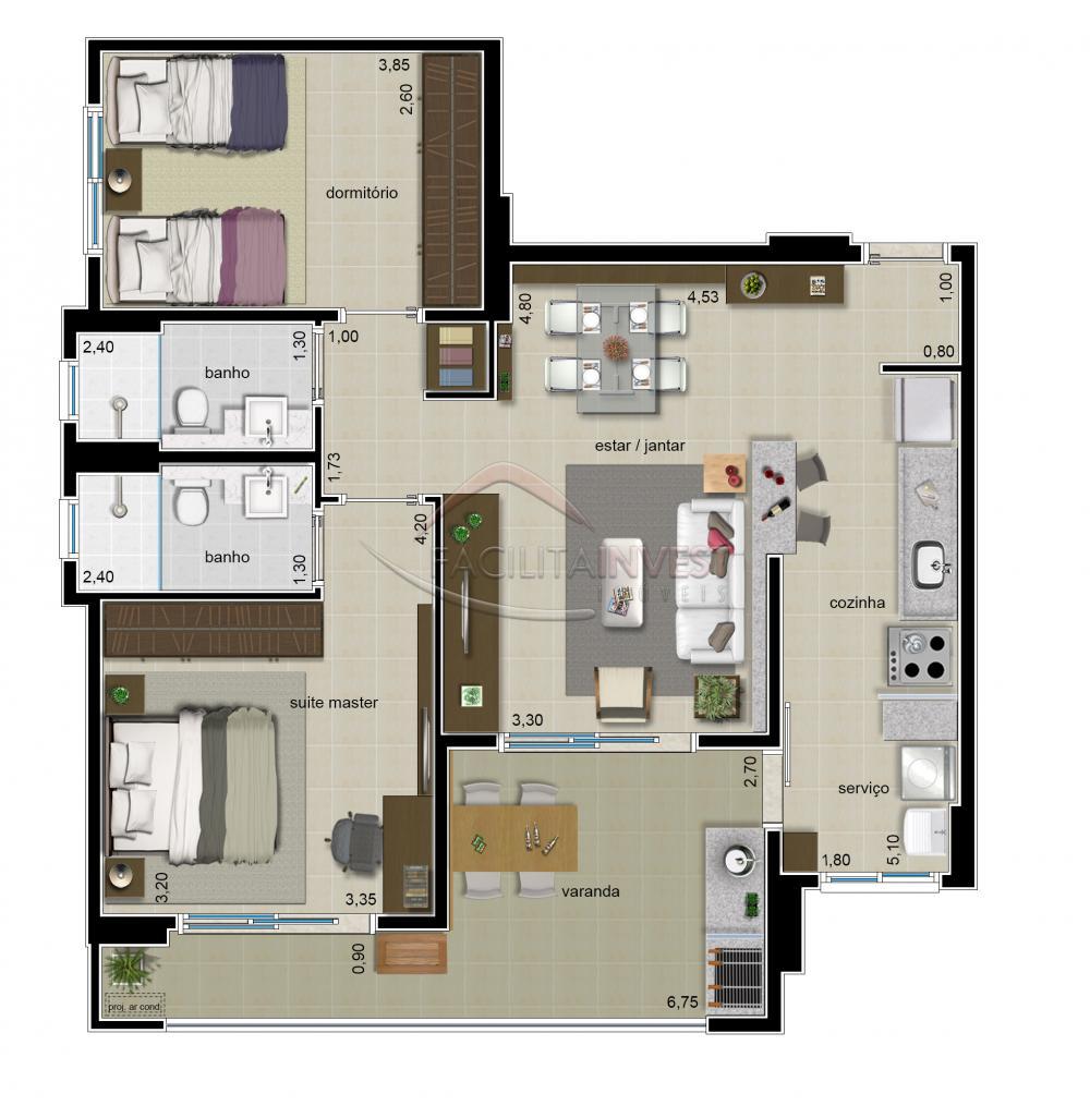 Comprar Apartamentos / Apart. Padrão em Ribeirão Preto apenas R$ 434.100,00 - Foto 3
