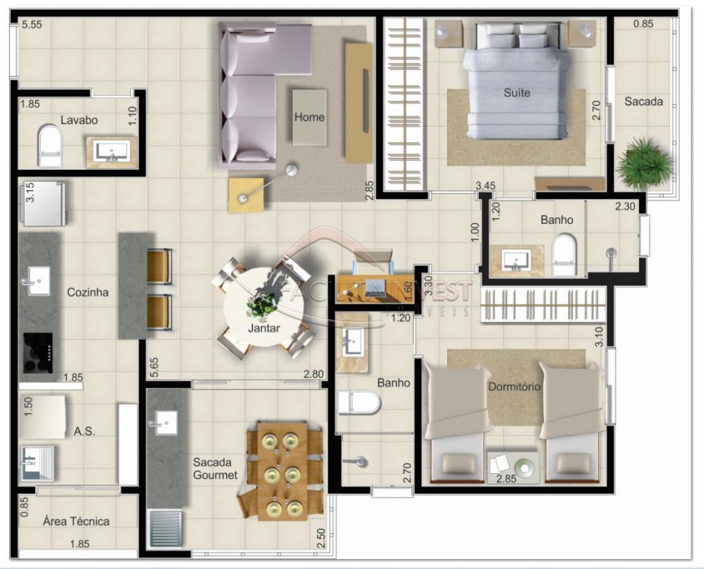 Comprar Apartamentos / Apart. Padrão em Ribeirão Preto apenas R$ 312.118,85 - Foto 2