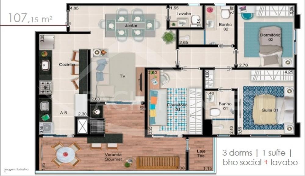 Comprar Apartamentos / Apart. Padrão em Ribeirão Preto R$ 521.129,00 - Foto 3