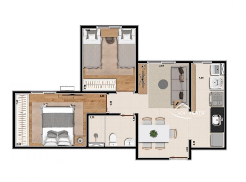 Comprar Apartamentos / Apart. Padrão em Ribeirão Preto apenas R$ 190.700,00 - Foto 4