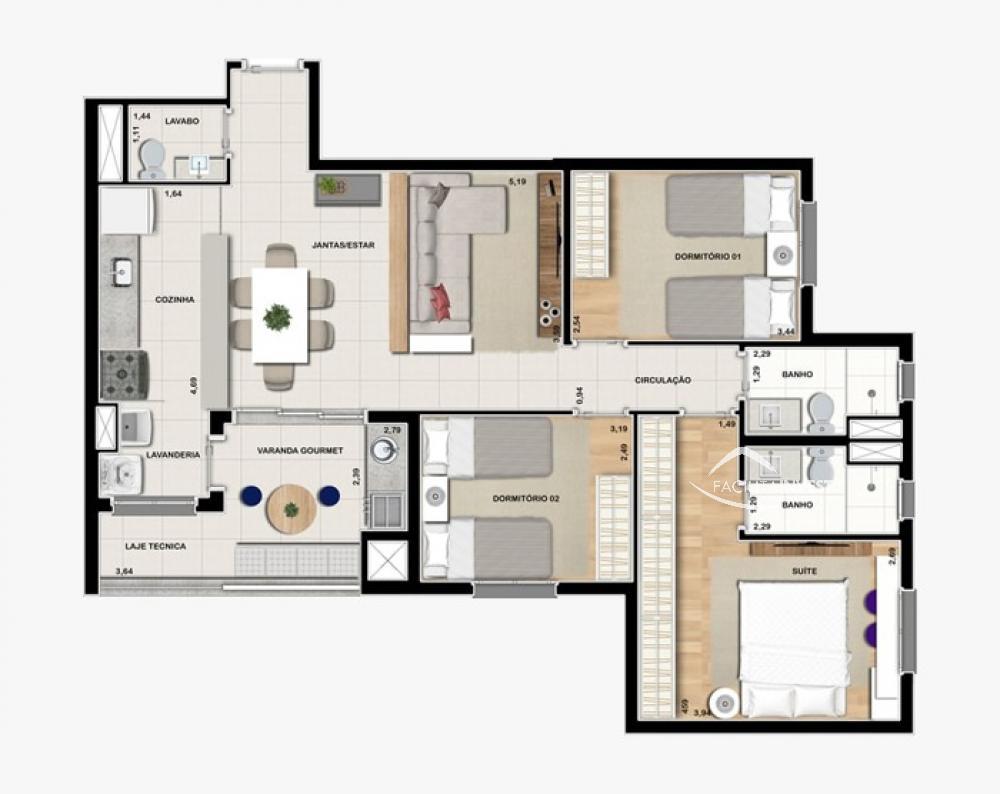 Alugar Apartamentos / Apart. Padrão em Ribeirão Preto R$ 3.200,00 - Foto 27