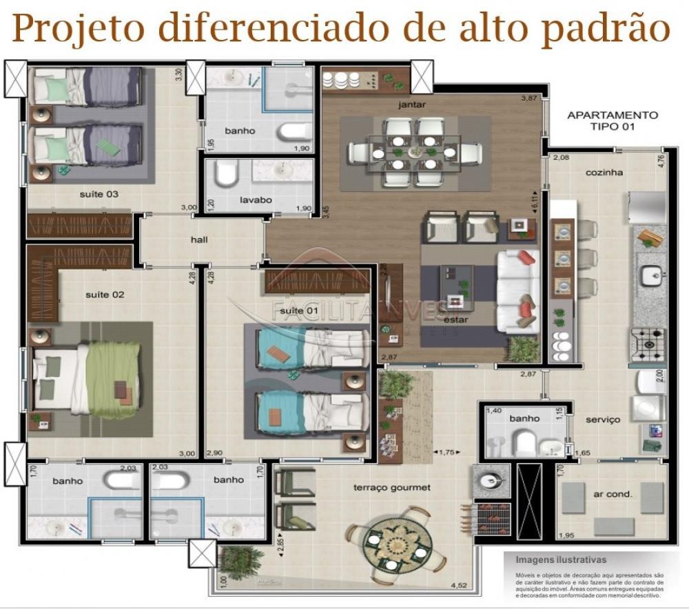 Comprar Apartamentos / Apart. Padrão em Ribeirão Preto apenas R$ 620.000,00 - Foto 8