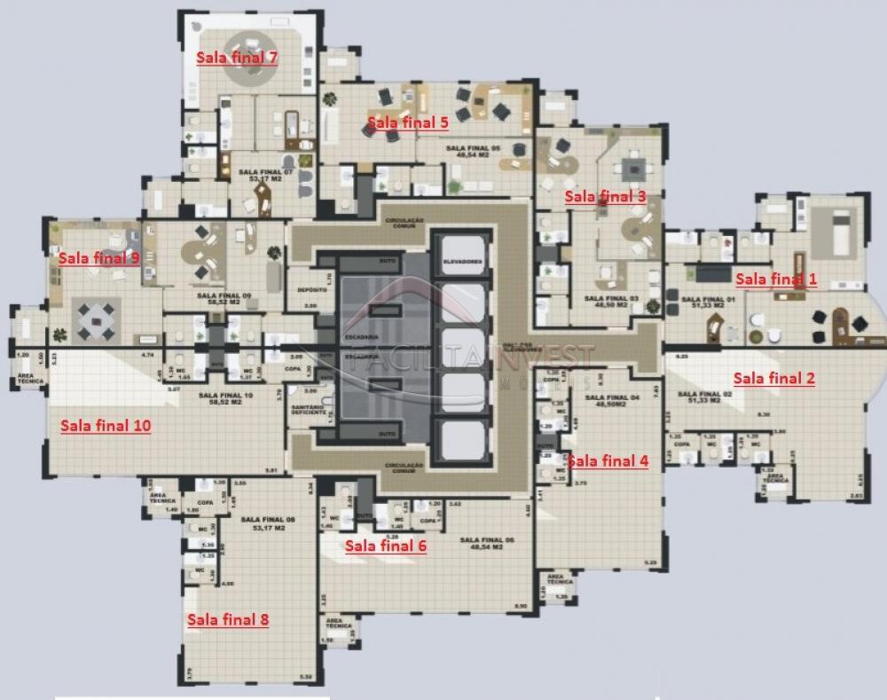 Alugar Salas Comerciais em Edifícios / Salas comerciais em Ribeirão Preto apenas R$ 1.400,00 - Foto 10