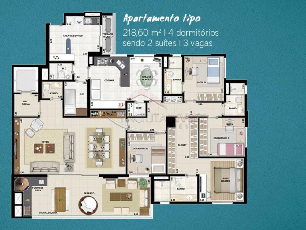 Comprar Apartamentos / Apart. Padrão em Ribeirão Preto apenas R$ 1.300.000,00 - Foto 43