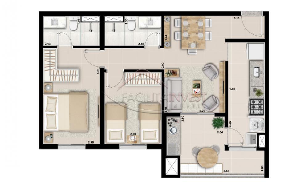 Alugar Apartamentos / Apart. Padrão em Ribeirão Preto apenas R$ 1.700,00 - Foto 32