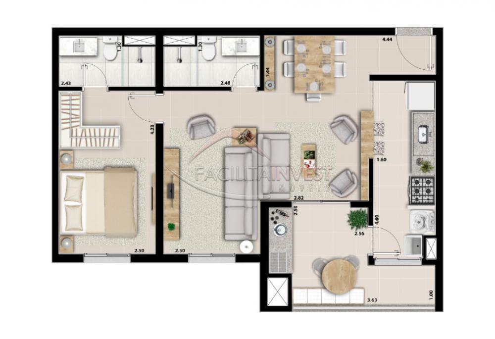 Alugar Apartamentos / Apart. Padrão em Ribeirão Preto apenas R$ 1.700,00 - Foto 34