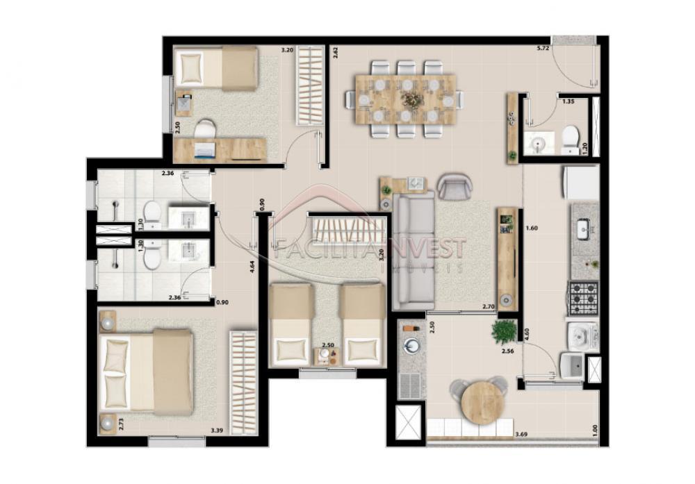 Alugar Apartamentos / Apart. Padrão em Ribeirão Preto apenas R$ 1.700,00 - Foto 28