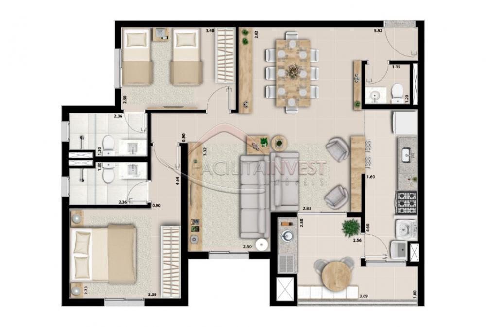 Alugar Apartamentos / Apart. Padrão em Ribeirão Preto apenas R$ 1.700,00 - Foto 30
