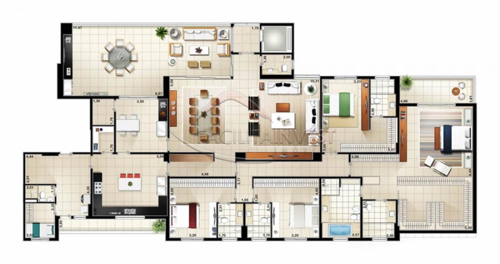 Comprar Apartamentos / Apart. Padrão em Ribeirão Preto apenas R$ 2.481.222,24 - Foto 3