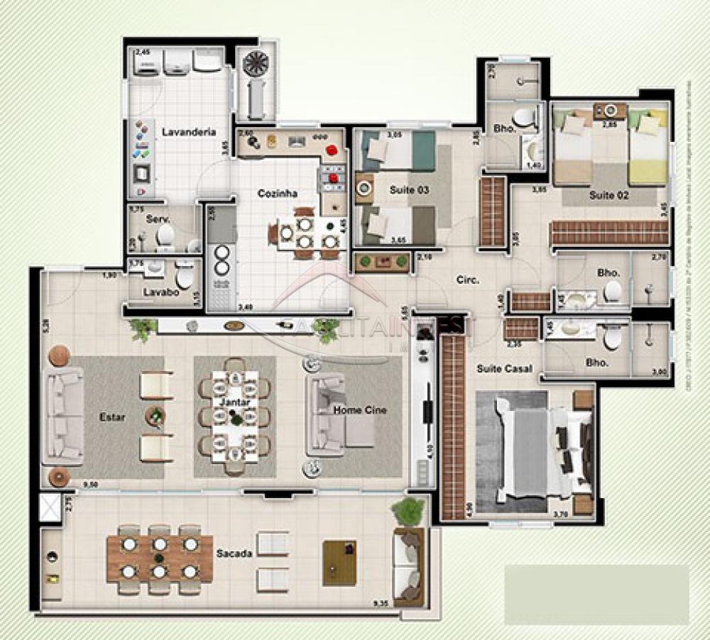 Comprar Apartamentos / Apart. Padrão em Ribeirão Preto apenas R$ 1.100.000,00 - Foto 20