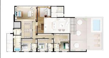 Ribeirao Preto Condominios Zona Sul Apartamento Venda R$3.819.228,11 4 Dormitorios 7 Vagas Area construida 586.64m2